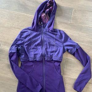 Lululemon Studio Jacket PurplePlum Mesh ReversiSz6